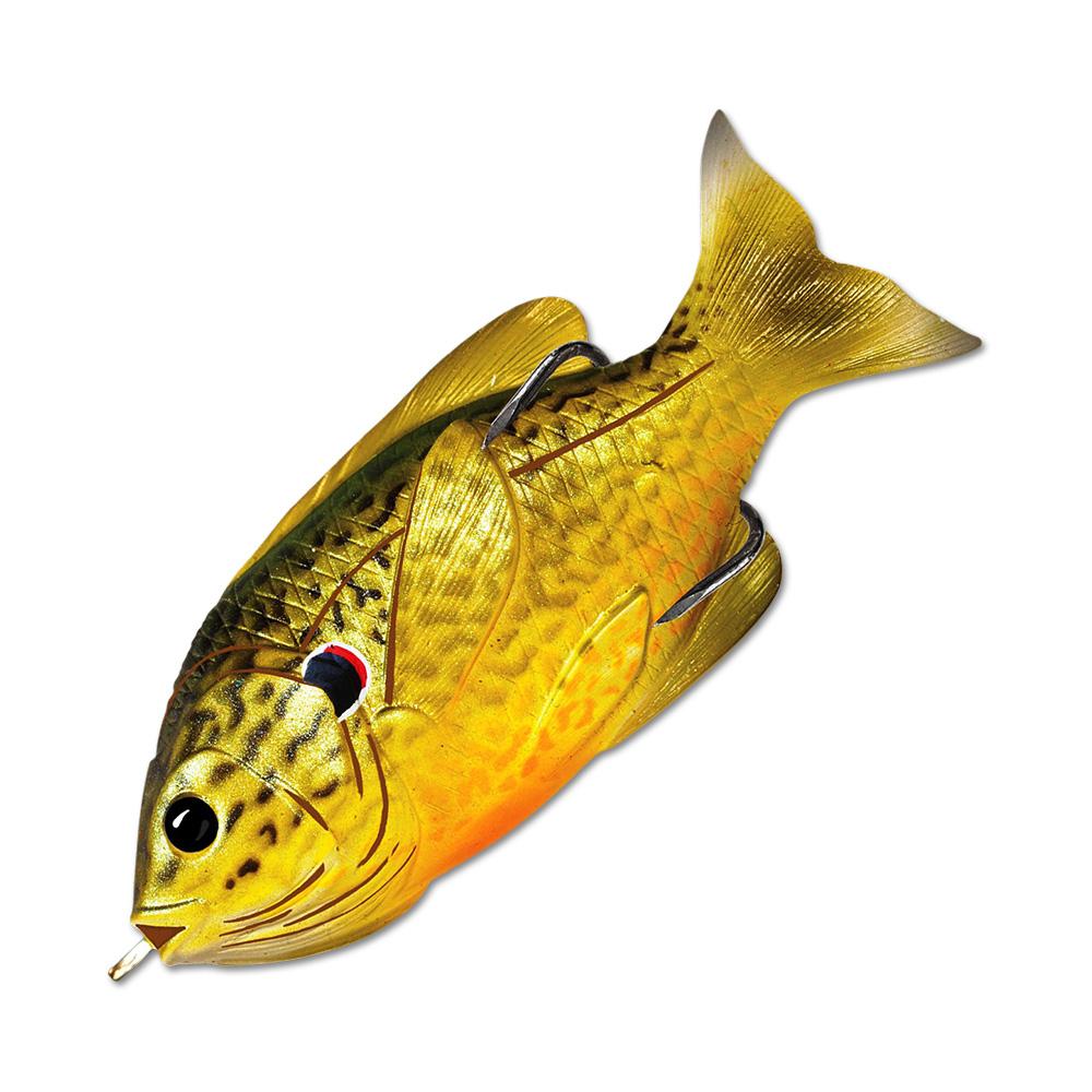 Воблер LiveTarget Sunfish Hollow Body 75F вес 12  гр. цвет  557 Green/Bronze Pumpkinseed