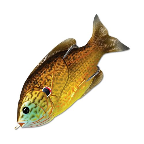 Воблер LiveTarget Sunfish Hollow Body 90F вес 18  гр. цвет  558 Copper Pumpkinseed