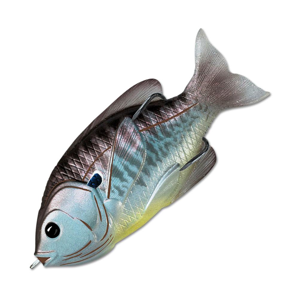 Воблер LiveTarget Sunfish Hollow Body 90F вес 18  гр. цвет  559 Blue/Metallic Bluegill