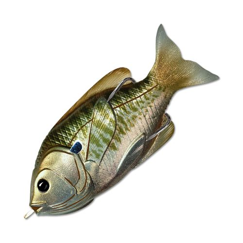 Воблер LiveTarget Sunfish Hollow Body 90F вес 18  гр. цвет  560 Olive/Metallic Bluegill