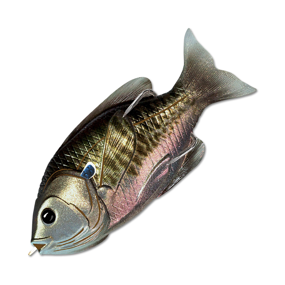 Воблер LiveTarget Sunfish Hollow Body 75F вес 12  гр. цвет  561 Midnight/Metallic Bluegill