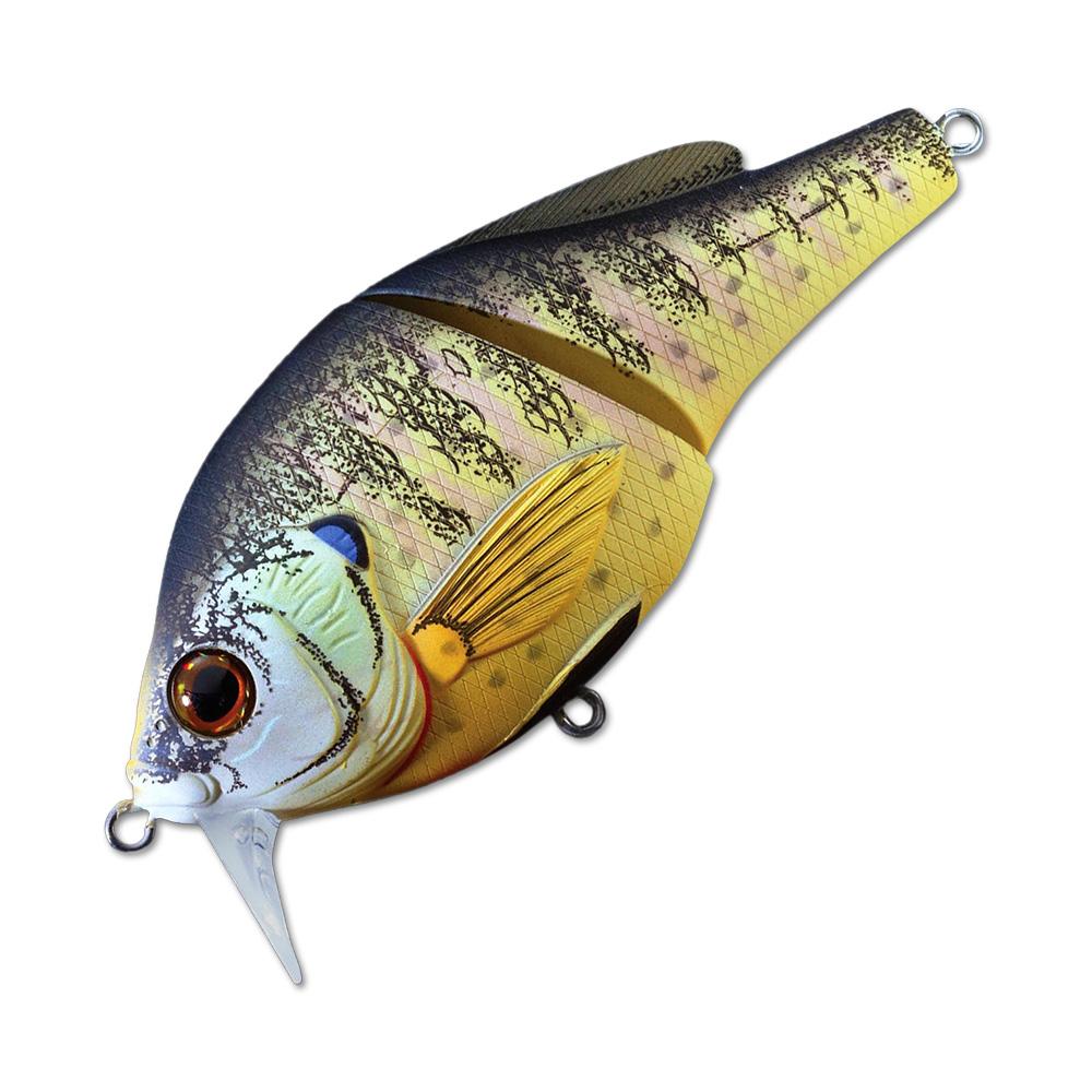 Воблер LiveTarget Sunfish Wakebait BGW75 вес 14  гр. цвет  BG 100 Natural/Matte