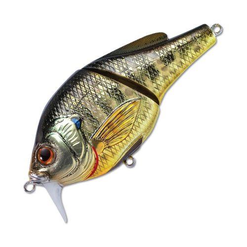 Воблер LiveTarget Sunfish Wakebait BGW75 вес 14  гр. цвет  BG 102 Metallic/Gloss