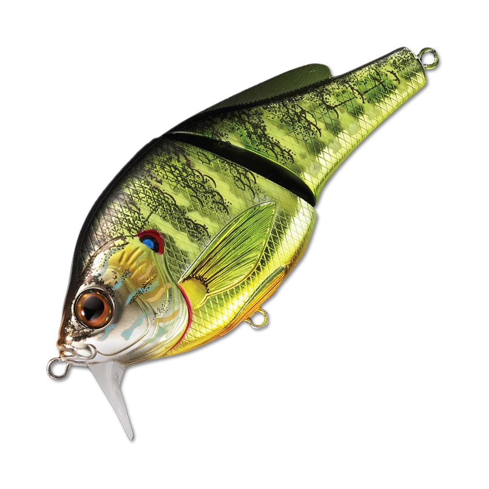 Воблер LiveTarget Sunfish Wakebait PSW75 вес 14  гр. цвет  PS 102 Metallic/Gloss