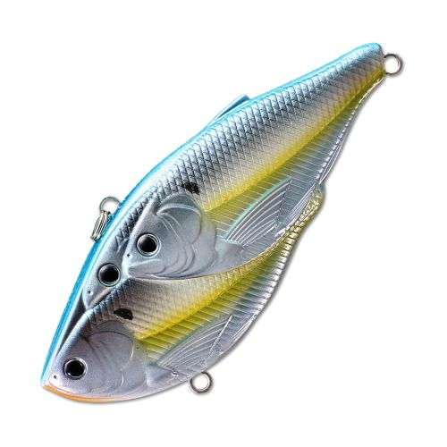 Воблер LiveTarget Threadfin Magnum Shad Rattlebait 90S вес 37  гр. цвет  822 Metallic Pearl/Blue Shad
