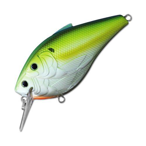 Воблер LiveTarget Threadfin Magnum Shad Squarebill 75F вес 18  гр. цвет  827 Chartreuse/Pearl/Blue Shad