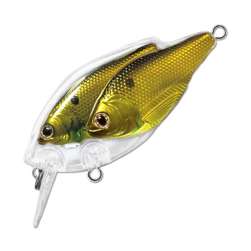 Воблер LiveTarget Threadfin Shad Squarebill 60F вес 14  гр. цвет  814 Gold/Black