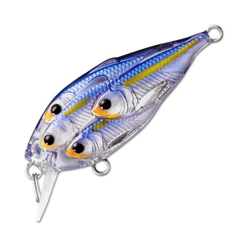 Воблер LiveTarget Yearling Squarebill 60F вес 14  гр. цвет  812 Pearl/Violet Shad