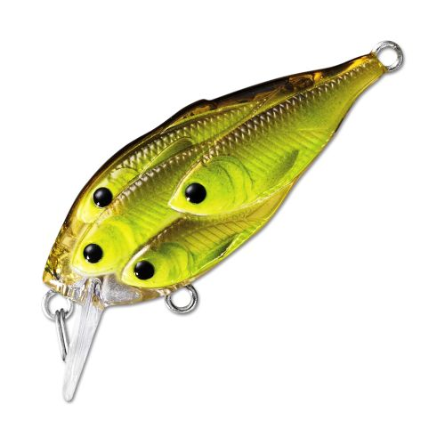 Воблер LiveTarget Yearling Squarebill 60F вес 14  гр. цвет  818 Chartreuse/Black