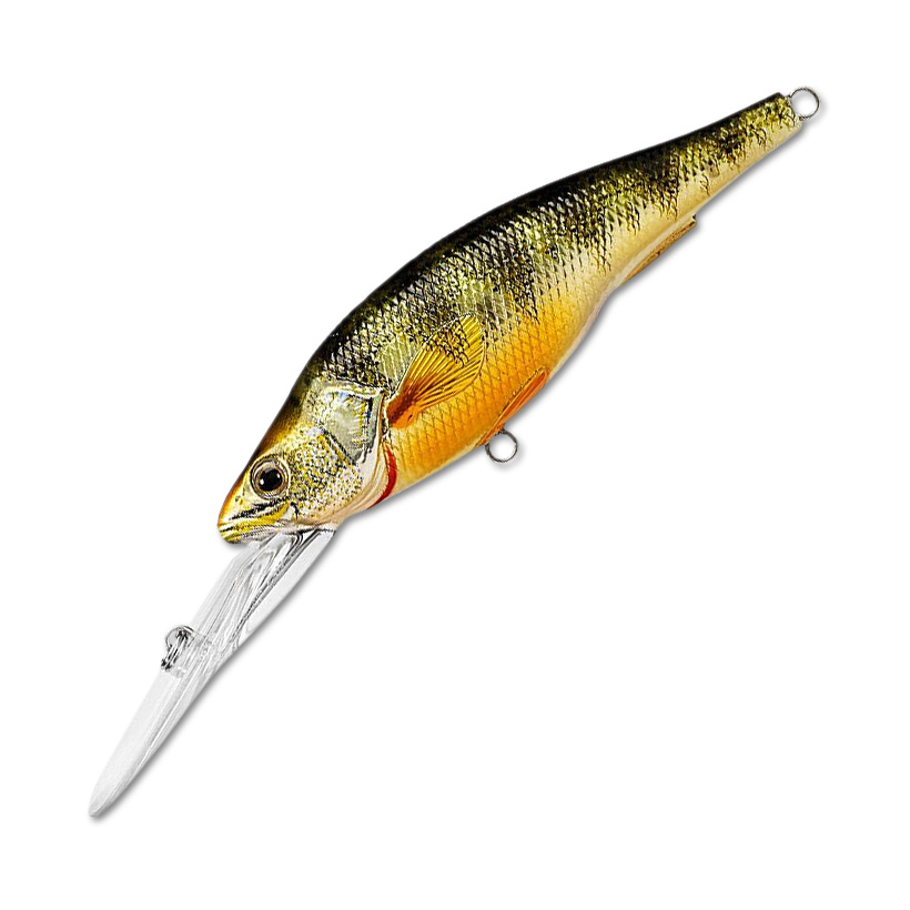 Воблер LiveTarget Yellow Perch Crankbait Deep 98F вес 20  гр. цвет  102 Metallic/Gloss
