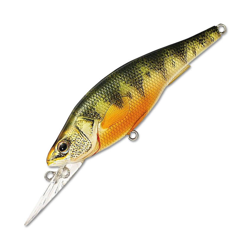 Воблер LiveTarget Yellow Perch Crankbait Medium 98F вес 16  гр. цвет  100 Natural/Matte