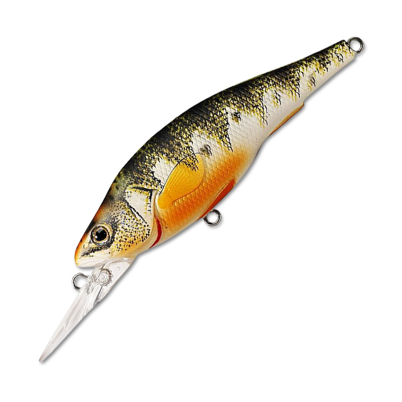 Воблер LiveTarget Yellow Perch Crankbait Medium 98F вес 16  гр. цвет  102 Metallic/Gloss