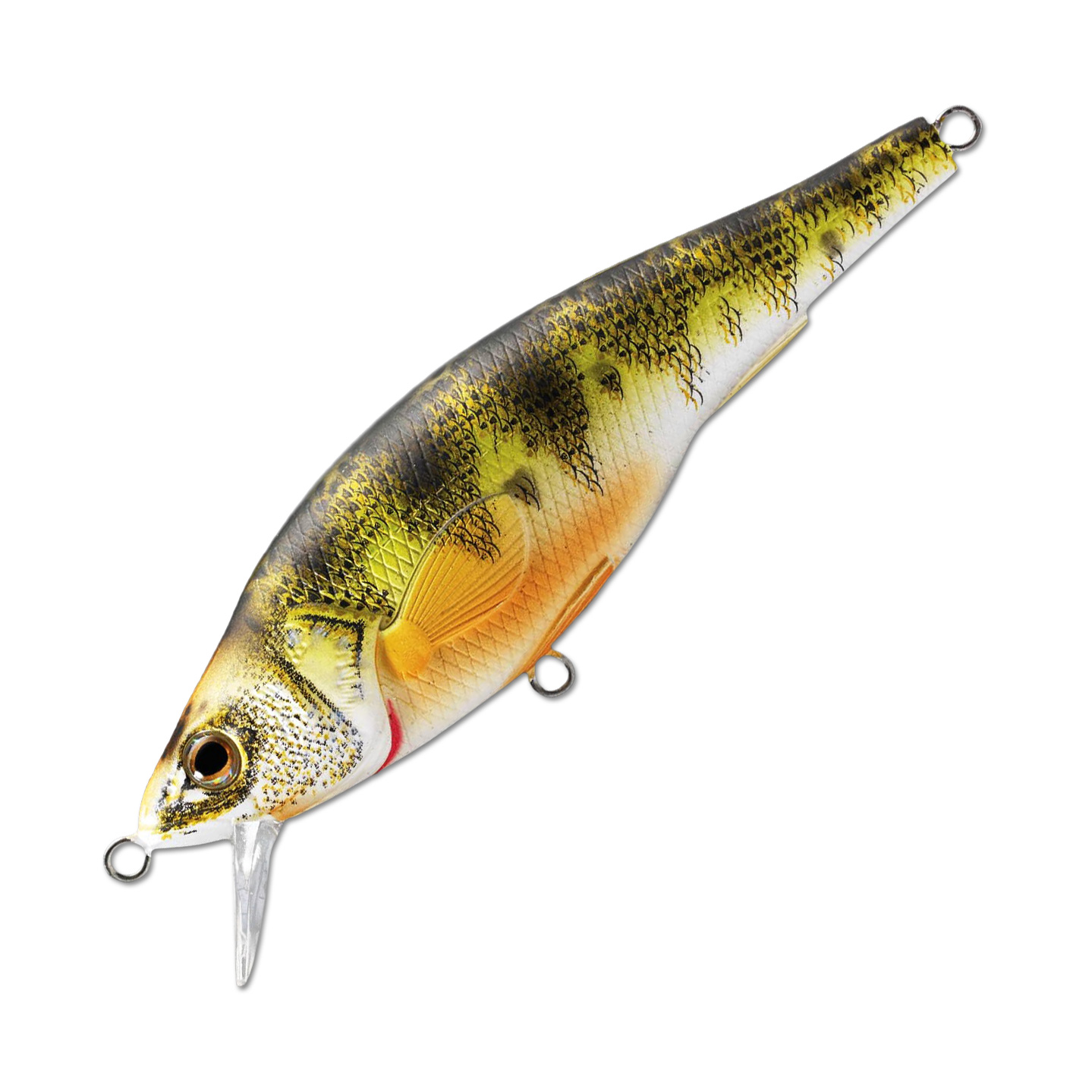 Воблер LiveTarget Yellow Perch Jerkbait 115SP вес 35  гр. цвет  100 Natural/Matte