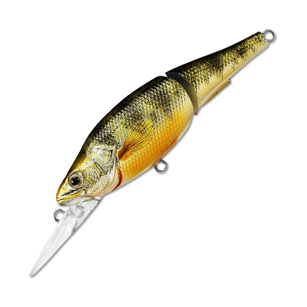 Воблер LiveTarget Yellow Perch Jointed Bait Medium 98F вес 16  гр. цвет  100 Natural/Matte