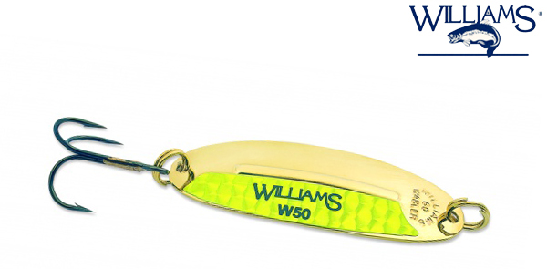Блесна Williams Wabler 40 цвет GC