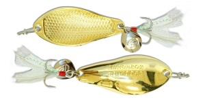 Блесна Kosadaka WARGA spoon Gold 55 мм, 10 гр