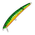 Воблер Yo-Zuri Crystal 3D Minnow Jointed F1096-HT