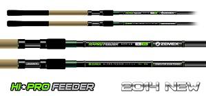 Фидерное удилище ZEMEX HI PRO FEEDER Heavy 14 ft до 150,0 гр.